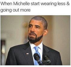 I know when that White House bling!