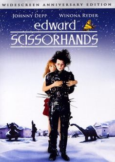 TB165. Edward Scissorhands / Dvd Cover Movie Poster (II) (1990) / #Movieposter / #Timburton