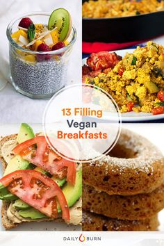 13 Easy Vegan Breakf