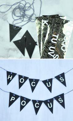 DIY Hocus Pocus Hall