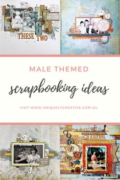 Male Scrapbooking Ideas 2019 Looking for ideas for male scrapbooking pages? Male Scrapbooking Ideas 2019 Looking for ideas for male scrapbooking pages? Scrapbook Journal, Scrapbook Page Layouts, Scrapbook Pages, Scrapbooking Ideas, Friend Scrapbook, Baby Scrapbook, Travel Scrapbook, Creative Memories, Scrapbook Embellishments