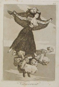 Volavérunt, by Francisco de Goya