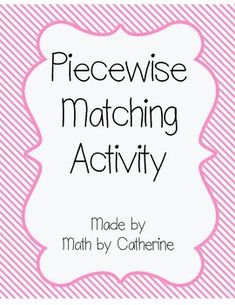 Worksheets Evaluating Piecewise Functions Worksheet activities student and the ojays on pinterest
