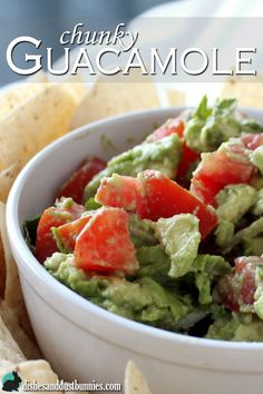 Guacamole is such a simple and delicious dip! It's super healthy, fresh and awesomely tasty!
