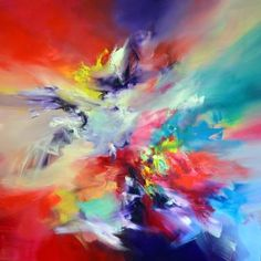 """Saatchi Art Artist Ivan Gideon Mijatovic; Painting, """"Color strength"""" #art"""