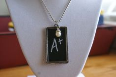 How to make a Chalkboard Necklace