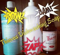 DIY Dish Soap ||| To learn more about Essential Oils, visit and LIKE my FB page: Facebook.com/EssentialDropsCS