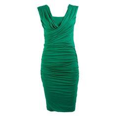 My design inspiration: Larena Dress Emerald Green on Fab.