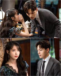 Something planing up. They both together work as a awesome team. Korean Drama List, Kissing Scenes, Jin Goo, Love Plus, Iu Fashion, Drama Korea, Drama Series, Sulli, Kpop