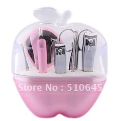 Aliexpress.com : Buy Stainless Steel Nail Clippers Scissors Manicure Tools with Apple Style Holder from Reliable 53094 suppliers on Chinatownmart (HongKong) Limited Manicure Tools, Nail Tools, Nail Scissors, Stainless Steel Nails, Nail Clippers, Apple, Stuff To Buy, Apple Fruit, Apples