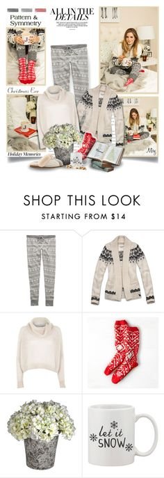 """""""Warmest Wishes"""" by thewondersoffashion ❤ liked on Polyvore featuring BCBGMAXAZRIA, Aerie, Abercrombie & Fitch, River Island, American Eagle Outfitters, UGG Australia, BloggerStyle, uggs, winterstyle and galmeetsglam"""