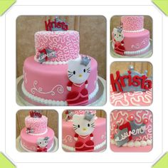 Princess Hello Kitty birthday cake www.facebook.com/cakeitorleaveitcakesbymarianne