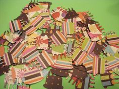 100 BIRTHDAY PARTY CAKES Card Making Scrapbooking by TheScrappyKat, $2.00