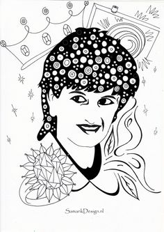 sandra name coloring pages - photo#18