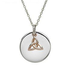 Love. Trinity Knot Charm Pendant | Irish Jewelry