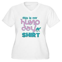 Hump Day Women's Plus Size V-Neck T-Shirt