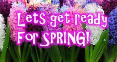 Crochet Ideas For Spring!