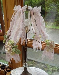 Romantic Pink Shabby Wire French Boudoir