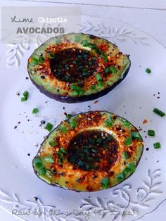 Lime Chipotle Avocados ~ Raw & Vegan