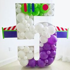 Pin by Rojos Bakery on Party Balloons & Decor in 2019 Toy Story Font, Fête Toy Story, Bolo Toy Story, Toy Story Theme, Toy Story Cakes, Toy Story Party, 2 Birthday, Toy Story Birthday, 3rd Birthday Parties