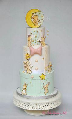 Vintage baby cake