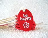 Cute little clay tags, perfect for gifts!