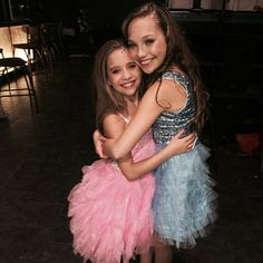 """Maddie Ziegler behind the scenes of MackZ's music video """"It's A Girl Party"""" [2014]"""