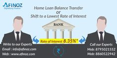 Free of cost Home Loan Balance Transfer services from Afinoz. Save your money with lowest interest rate. Just transfer your existing  Home Loan and enjoy lowest interest rate.  For more details please visit- www.afinoz.com or for query mail us info@afinoz.com   call @ 8795021552/ 8860522942