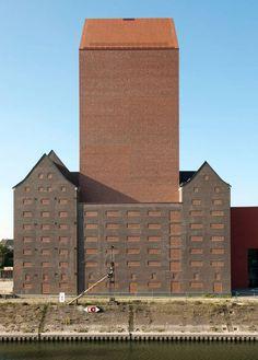 Landesarchiv NRW in Duisburg O&O Baukunst