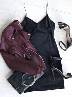 Aleah Dress - Black Velvet #womenclothingwinter