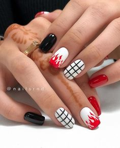 100 Hottest Acrylic Square Nails Design For Short Nails Coffin naildesign Square Acrylic Nails, Summer Acrylic Nails, Best Acrylic Nails, Square Nails, Square Nail Designs, Short Nail Designs, Nail Polish Designs, Acrylic Nail Designs, Nails Design