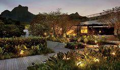 restaurante eñe, rio de janeiro/AR arquitetos/ jardins de Burle Marx