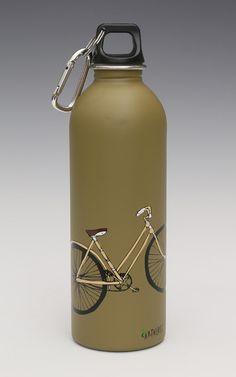 Earthlust Stainless Steel Water Bottles - Bike ,1 Liter
