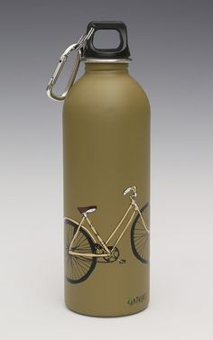 Earthlust Stainless Steel Water Bottles - Bike ,1 Liter