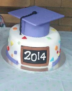 My son's preschool graduation cake