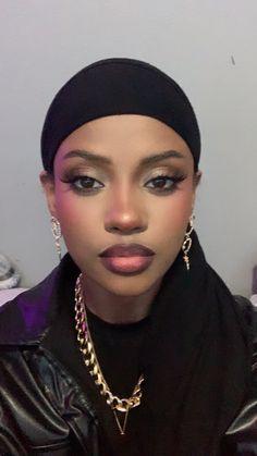 Makeup Inspo, Glam Makeup, Makeup Inspiration, Beauty Makeup, Eye Makeup, Hair Makeup, Pretty Black Girls, Beautiful Black Women, Black Girls Rock