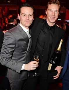 Because Sherlock and Moriarty being friends in real life is everything.