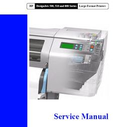 C7769 60374 service station designjet 500 510 800 plotter designjet 500 510 800 service manual download direct download after payment of the service fandeluxe Gallery