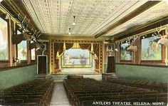 Antlers Theater in Helena Montana gets new life in Loosey Goosey by Rae Davies. (and maybe some death)