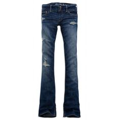 AE Women's Artist Jeans ($30) ❤ liked on Polyvore featuring jeans, pants, bottoms, bottoms - jeans, clothing & accessories, flare jeans, blue jeans, ripped boyfriend jeans, torn jeans and sexy ripped jeans