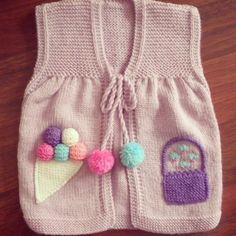 35 Easy Baby Vest Knitting Patterns from Each Other Easy Crochet, Crochet Baby, Free Crochet, Baby Vest, Baby Cardigan, Baby Knitting Patterns, Knit Vest Pattern, Cozy Scarf, Moda Emo