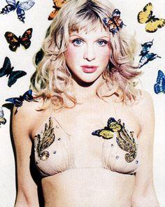 Courtney Love when she wasn't on drugs.