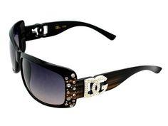 DG Eyewear LOGO Style DIAMOND EDGE Design Sunglasses With Storage BAG (Brown, Black) DG Eyewear. $7.50. non-polarized. plastic frame. plastic lens. Lens width: 65 millimeters