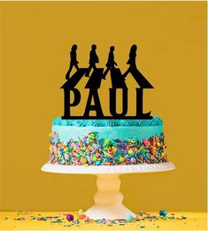 Beatles Birthday Party, Adult Birthday Party, 12th Birthday, Birthday Party Themes, 50th Birthday Cake Images, Cool Birthday Cakes, Birthday Cake Toppers, Beatles Cake, The Beatles