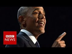 Barack Obama farewell speech highlights - BBC News