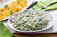 ricotta amp spinach pasta with orange hazelnut amp mint salad visit ...