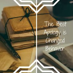 The Best Way to Say Sorry...