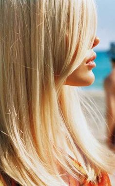 Beach Light Blonde Hair