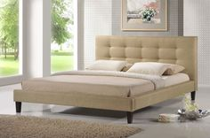 Baxton Studio Quincy Platform Bed
