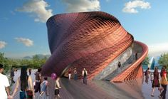 Vanke pavilion Expo 2015 by Daniel Libeskind
